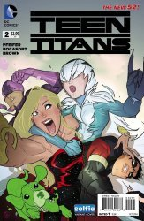DC Comics's Teen Titans Issue # 2c