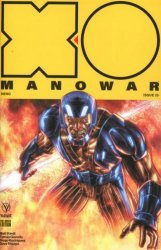 Valiant Entertainment's X-O Manowar Issue # 25e