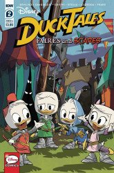 IDW Publishing's Ducktales: Faires and Scares Issue # 2