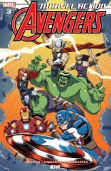 IDW Publishing's Marvel Action: Avengers Issue # 3b