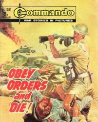 D.C. Thomson & Co.'s Commando: War Stories in Pictures Issue # 1081