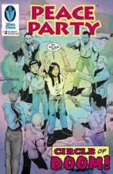 Blue Corn Comics's Peace Party Issue # 2