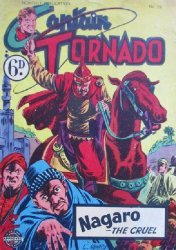 L. Miller & Son's Captain Tornado Issue # 59