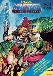 London Editions Magazines's Masters of the Universe Special # 1