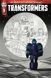 IDW Publishing's Transformers Issue # 1 - 2nd print