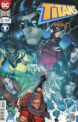 DC Comics's Titans Issue # 21b