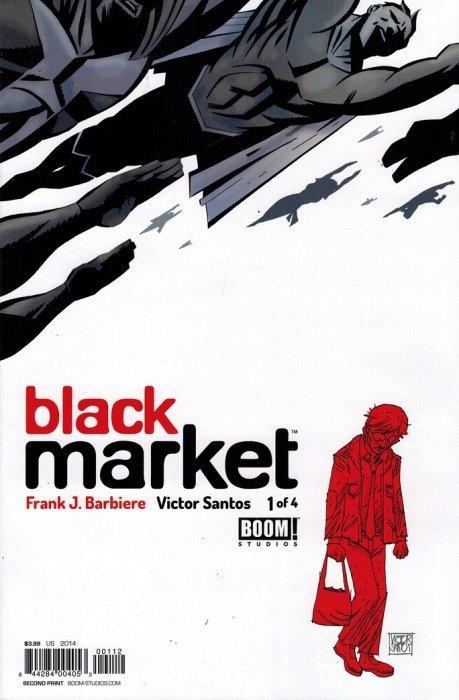 Book Cover Black Market ~ Black market boom studios comicbookrealm