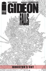 Image Comics's Gideon Falls Issue # 1-directors cut