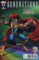Marvel Comics's Generations: Unworthy - Thor & Mighty Thor Issue # 1d