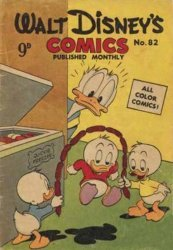 W.G.(Wogan)Publications's Walt Disney's Comics Issue # 82