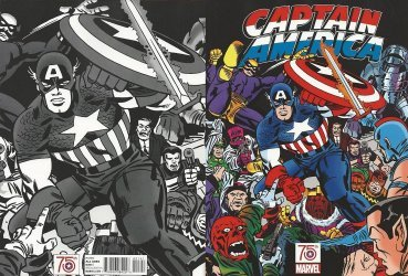 Marvel's Captain America: 75th Anniversary Magazine Issue # 1d