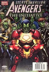 Marvel Comics's Avengers: The Initiative Issue # 15b