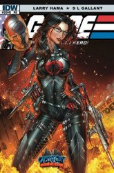 IDW Publishing's G.I. Joe: A Real American Hero Issue # 204cccc
