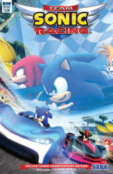 IDW Publishing's Team Sonic Racing: Plus Deluxe Turbo Championship Edition Issue # 1