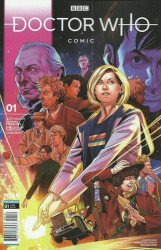 Titan Comics's Doctor Who Comic Issue # 1e