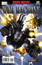 Marvel Comics's War Machine Issue # 1
