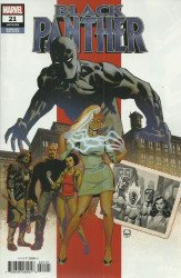 Marvel Comics's Black Panther Issue # 21b