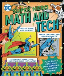 Downtown Bookworks's DC Super Hero Math and Tech Soft Cover # 1