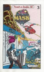 DC Comics's Mask: Kenner Mini-Comics Issue # 3