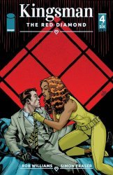 Image Comics's Kingsman: The Red Diamond Issue # 4
