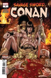 Marvel Comics's Savage Sword Of Conan Issue # 7