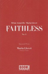 BOOM! Studios's Faithless Issue # 1 - 2nd print Erotica