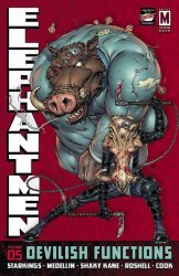 Image's Elephantmen Hard Cover # 5