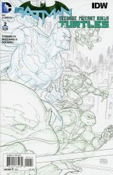DC Comics's Batman / Teenage Mutant Ninja Turtles Issue # 2e
