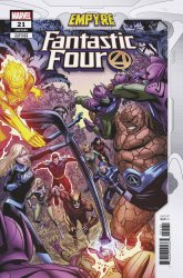 Marvel Comics's Fantastic Four Issue # 21c