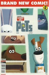 Titan Comics's The Secret Life of Pets Issue # 2b