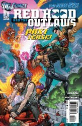DC Comics's Red Hood and the Outlaws Issue # 3