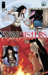 Image Comics's Exorsisters Issue # 4