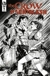 IDW Publishing's The Crow/Hack Slash Issue # 1ri-b