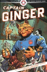 Ahoy Comics's Captain Ginger Issue # 2