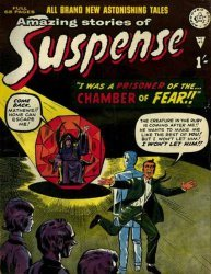 Alan Class & Company's Amazing Stories of Suspense Issue # 95