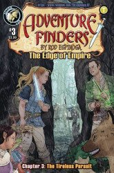 Action Lab Entertainment's Adventure Finders: The Edge Of Empire Issue # 3