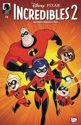 Dark Horse Comics's Incredibles 2: Secret Identities Issue # 3