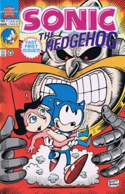 Sonic The Hedgehog Issue 1 Archie Comics Group