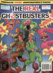 Marvel UK's The Real Ghostbusters Issue # 78
