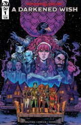 IDW Publishing's Dungeons & Dragons: A Darkened Wish Issue # 1