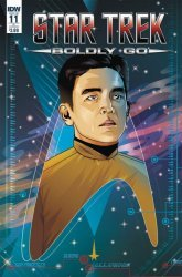 IDW Publishing's Star Trek: Boldly Go Issue # 11ri-b