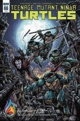 IDW Publishing's Teenage Mutant Ninja Turtles Issue # 66c&p