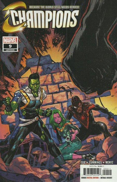 Champions #26 Marvel Comics 2019 VF-NM