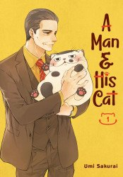 Square Enix Manga's A Man And His Cat  Soft Cover # 1