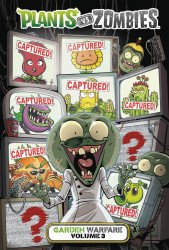 Dark Horse Comics's Plants vs Zombies: Garden Warfare Hard Cover # 3