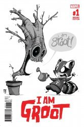 Marvel Comics's I Am Groot Issue # 1g