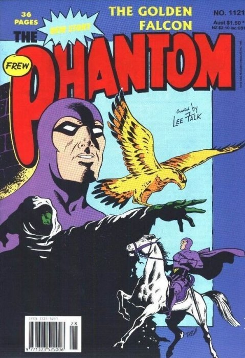 Frew Phantom comic # 1108 from 1995. 100 page special. 4 stories.