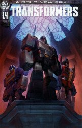 IDW Publishing's Transformers Issue # 14ri