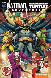 IDW Publishing's Batman / Teenage Mutant Ninja Turtles Adventures Issue # 1h&f