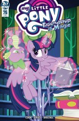 IDW Publishing's My Little Pony: Friendship is Magic Issue # 76ri